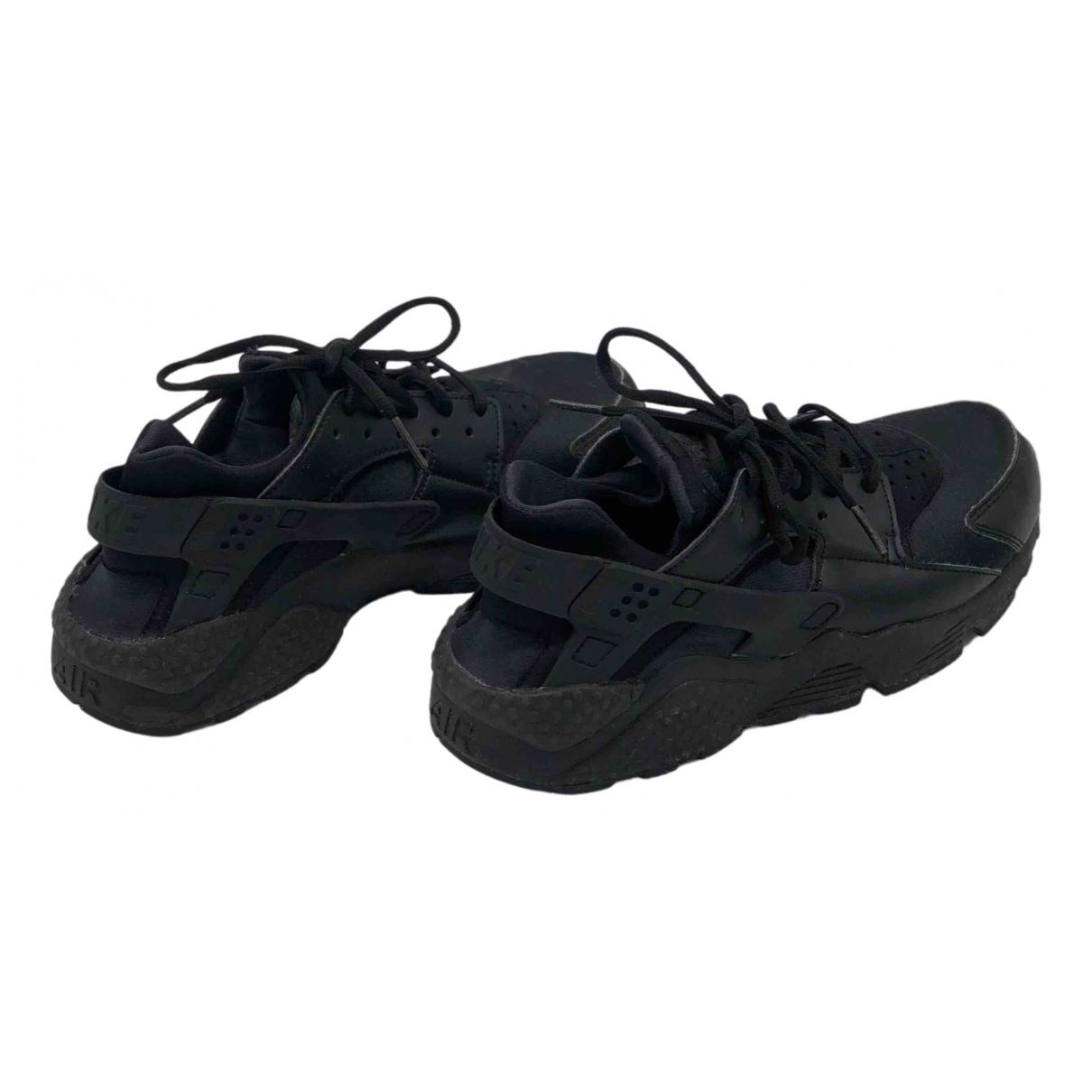Nike - Baskets Huarache pour femme - noir