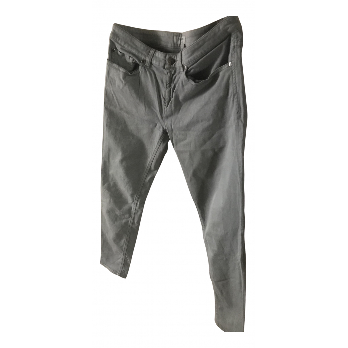 Yves Saint Laurent N Cotton Trousers for Women 40 FR