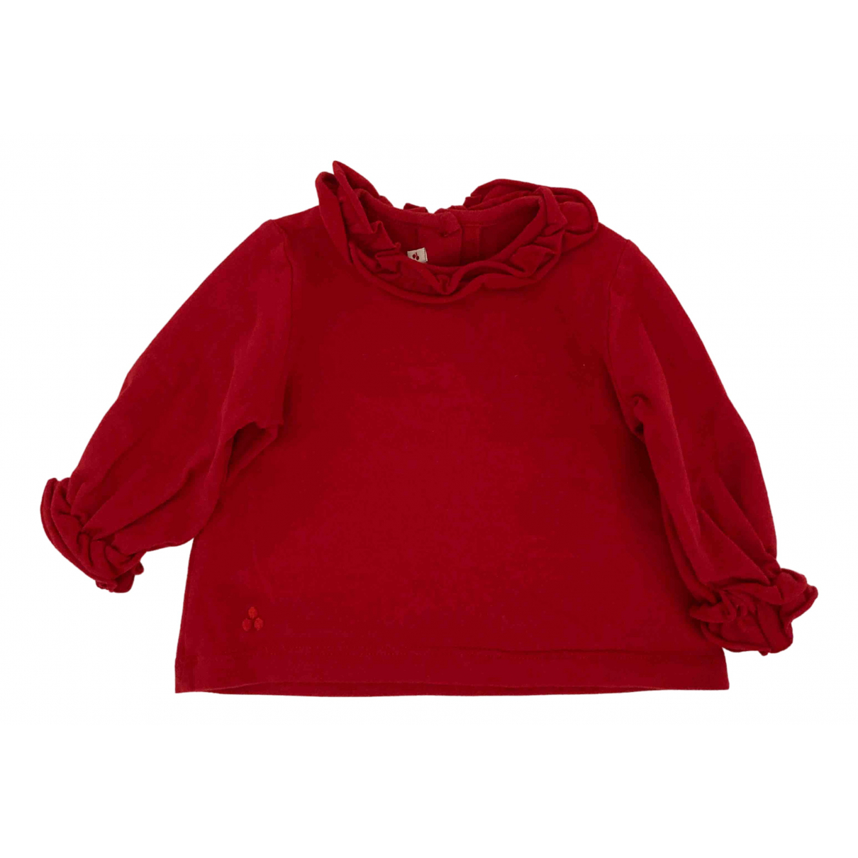 Peuterey \N Red Cotton Knitwear for Kids 6 months - up to 67cm FR