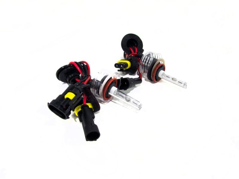 Race Sport Lighting H8-5K-SB-RB-55W H8 5K 55W Single Beam HID Replacement Bulbs
