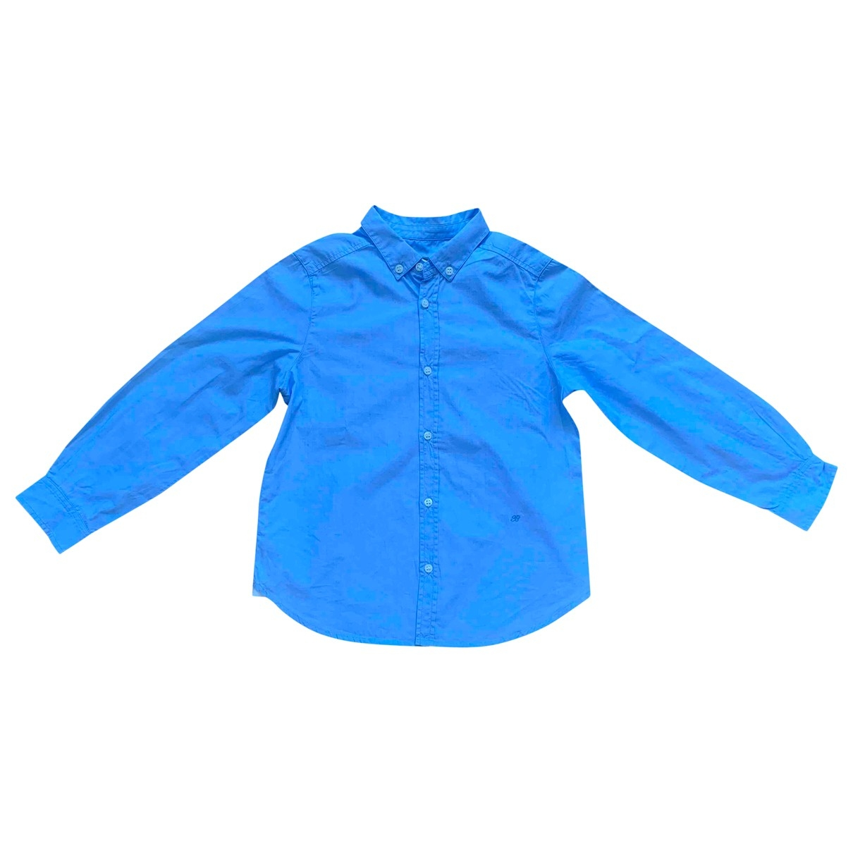 Bonpoint \N Blue Cotton  top for Kids 6 years - up to 114cm FR