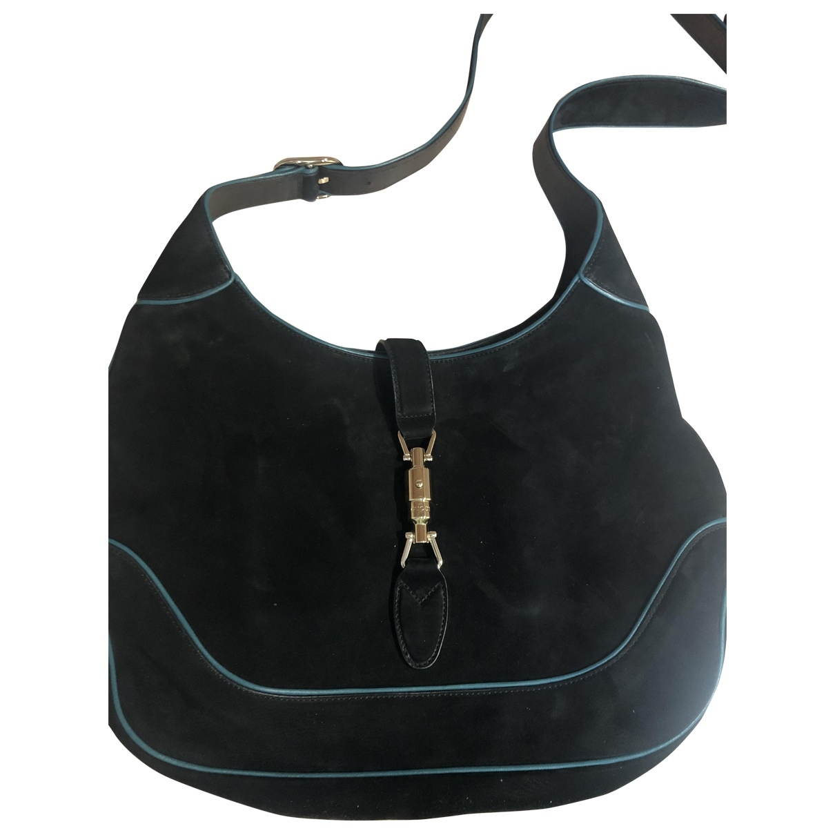 Gucci Jackie Black Suede handbag for Women \N