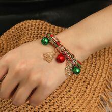Armband mit Weihnachten Glocke Anhaenger