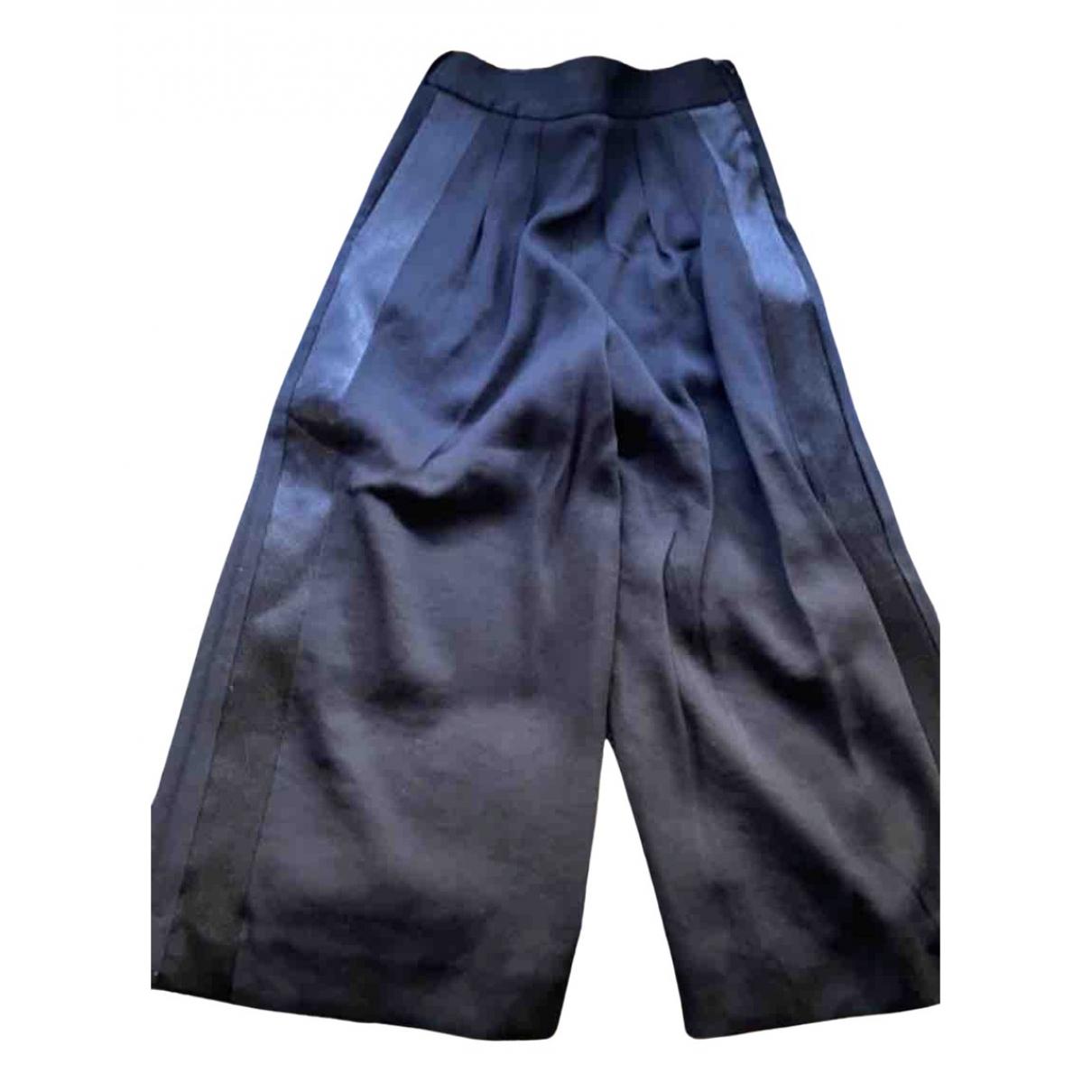 Maje Fall Winter 2019 Black Trousers for Women 36 FR