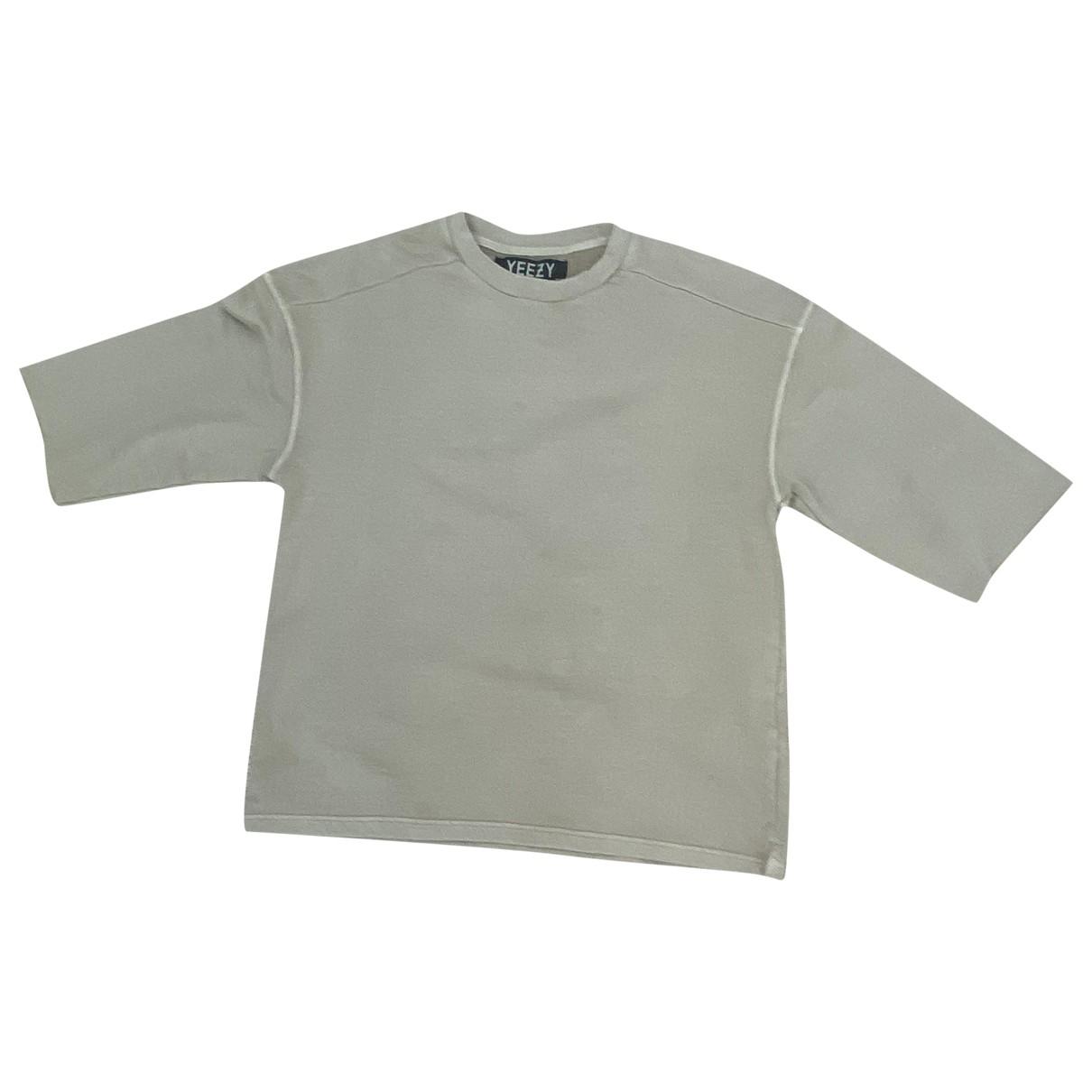 Yeezy X Adidas \N Pullover.Westen.Sweatshirts  in  Beige Baumwolle