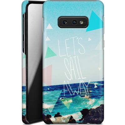 Samsung Galaxy S10e Smartphone Huelle - Lets Sail Away von Leah Flores