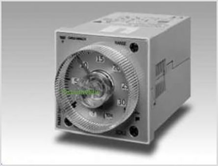 Carlo Gavazzi DPDT Multi Function Timer Relay - 0.05 s → 300 h, 4 Contacts, Plug In