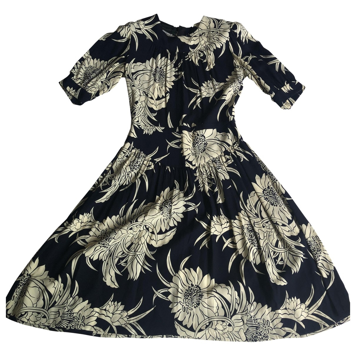 Prada \N Silk dress for Women 38 IT