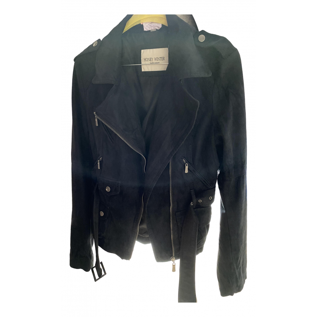 Non Signé / Unsigned \N Black jacket for Women M International