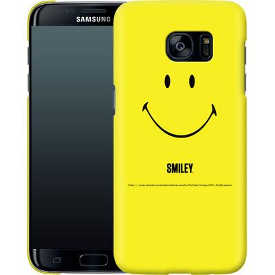 Samsung Galaxy S7 Edge Smartphone Huelle - Smiley All Over von Smiley®