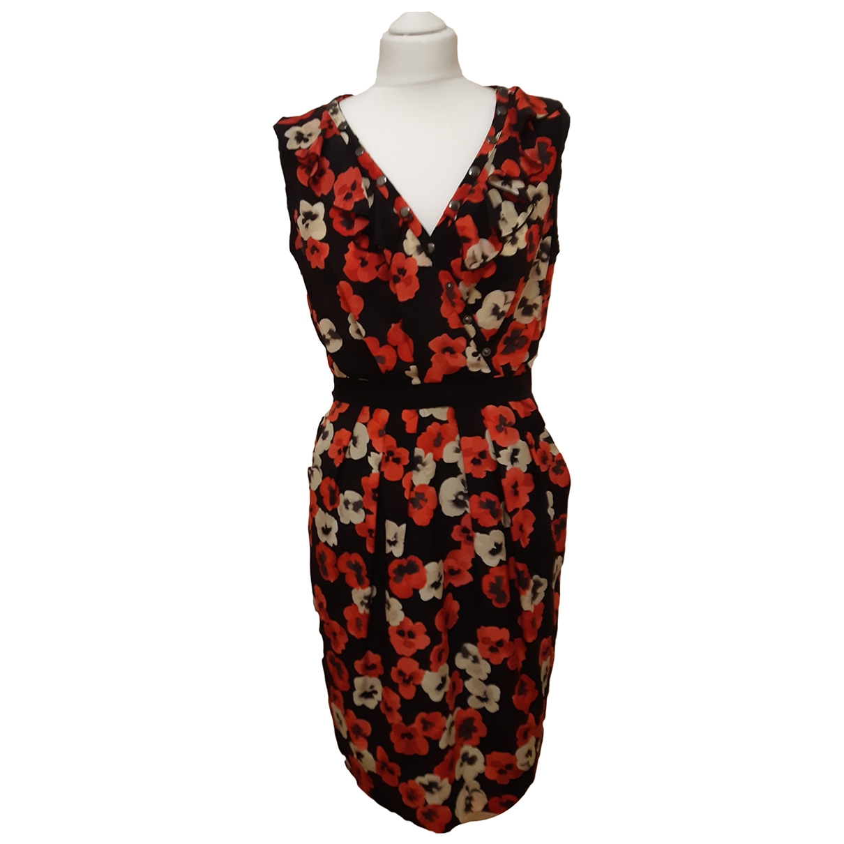 Moschino Cheap And Chic \N Kleid in Seide