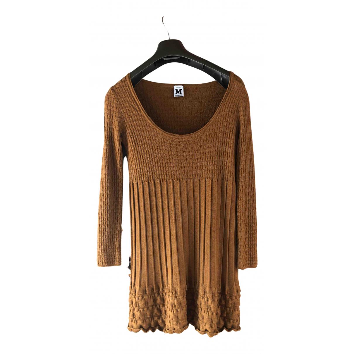 M Missoni \N Kleid in  Braun Wolle