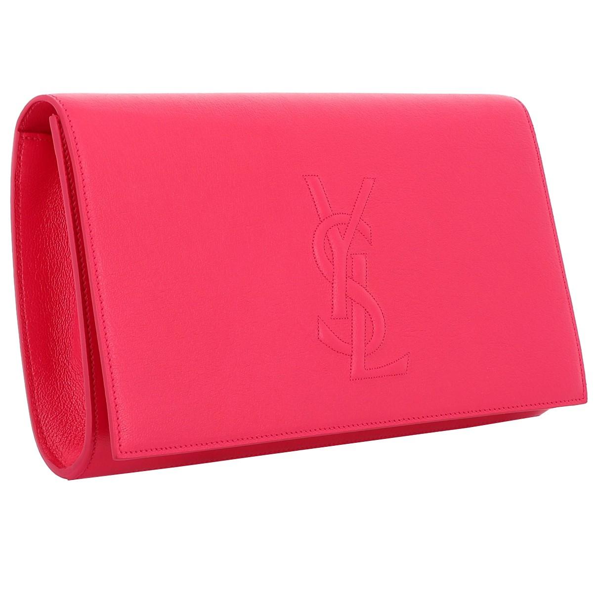 Yves Saint Laurent - Pochette Belle de Jour pour femme en cuir - multicolore