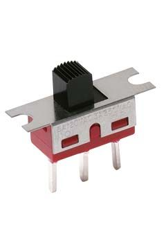 C & K PCB Slide Switch Single Pole Double Throw (SPDT) Latching 6 A @ 120 V ac, 6 A @ 28 V dc Slide