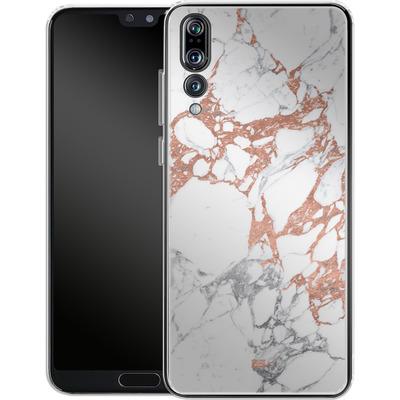 Huawei P20 Pro Silikon Handyhuelle - Marble Mix von #basic