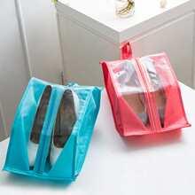 1pc Portable Random Shoe Storage Bag