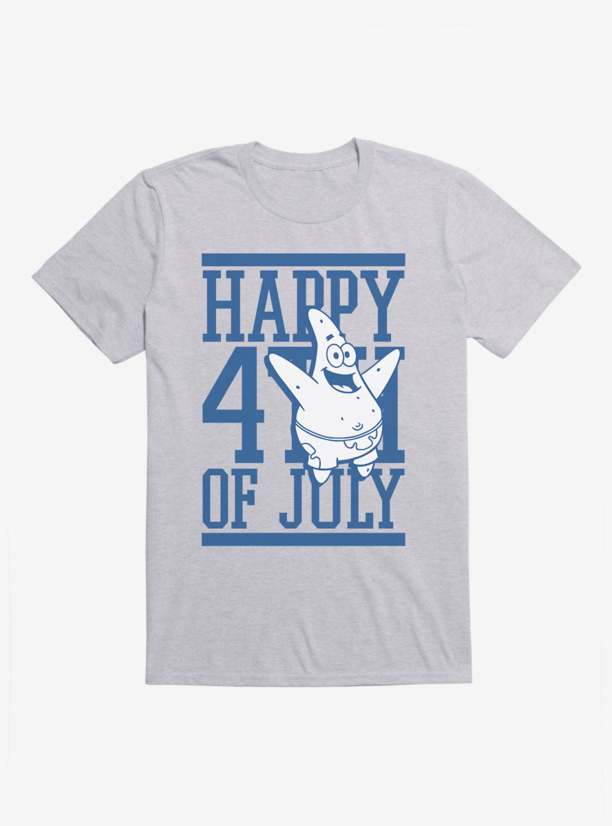SpongeBob SquarePants Fourth Of July Patrick T-Shirt