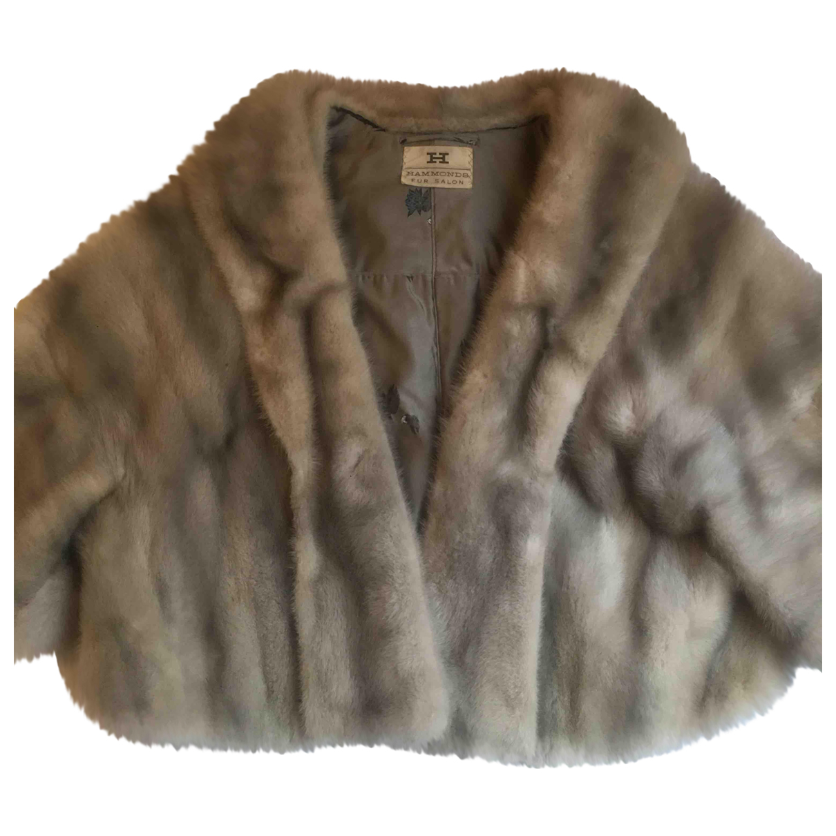 Non Signé / Unsigned N Grey Mink coat for Women M International
