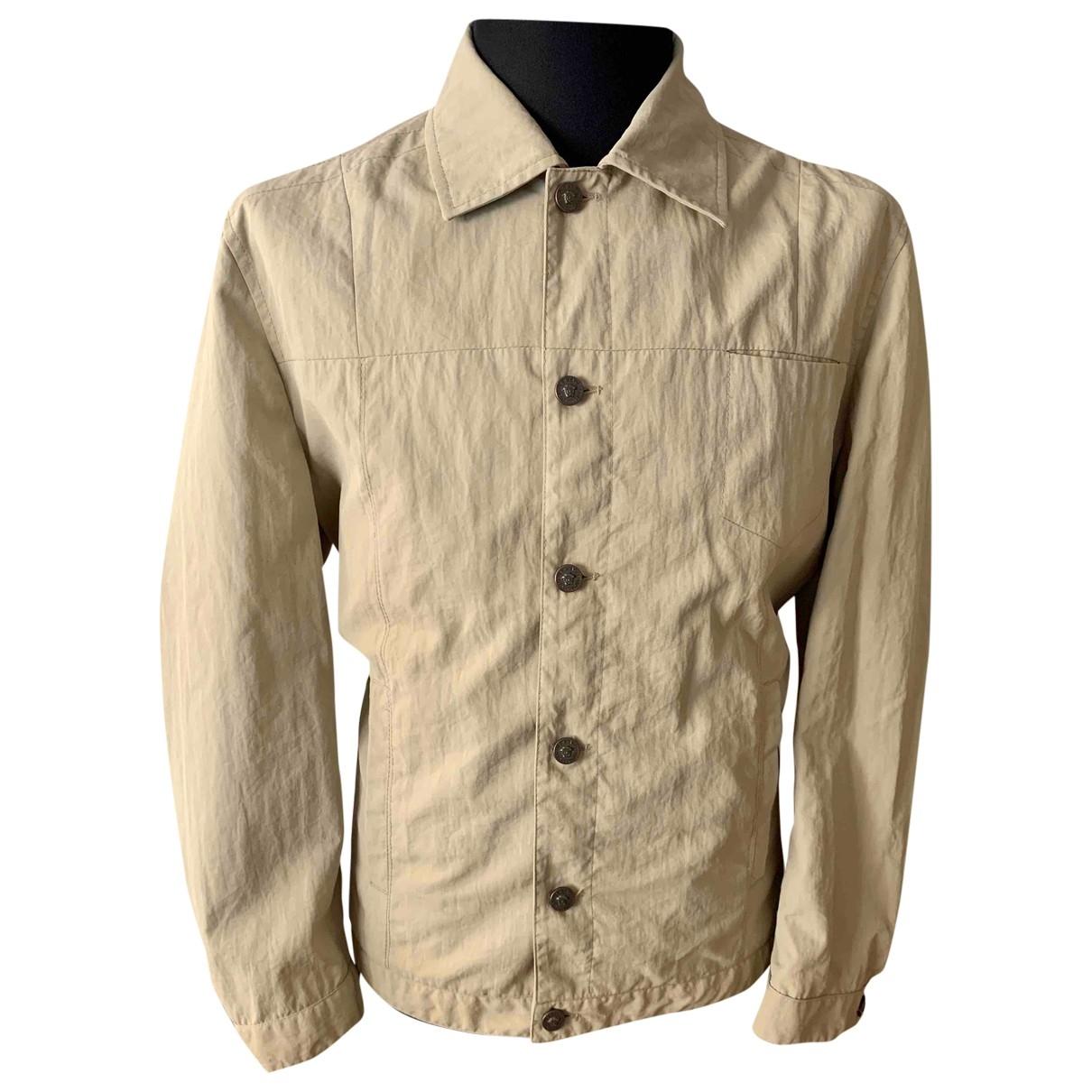 Versace Jeans \N Beige Cotton jacket  for Men M International