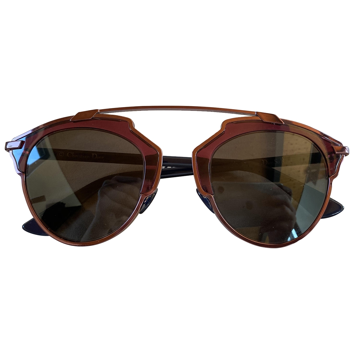 Dior So Real  Red Sunglasses for Women \N