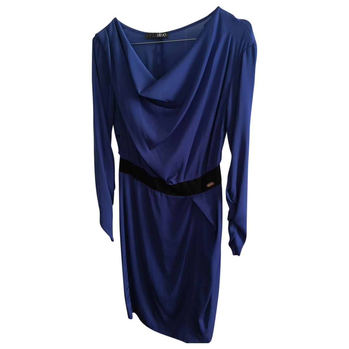 Liu.jo - Robe   pour femme - bleu