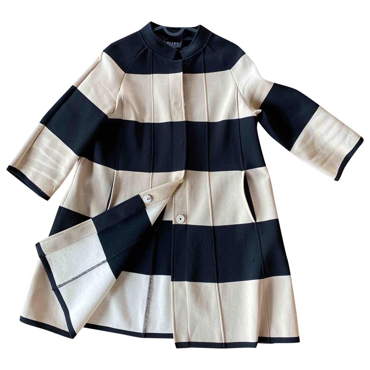 Neera \N Beige Cotton dress for Women 44 IT
