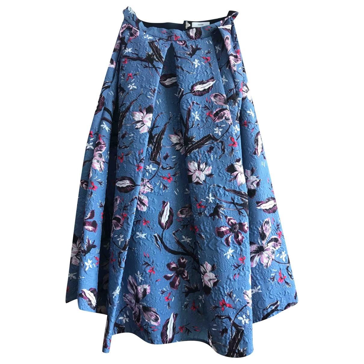 Erdem \N Blue skirt for Women 12 UK
