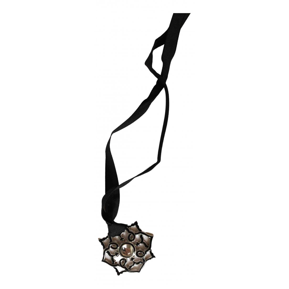 Lalique - Collier   pour femme en cristal - noir