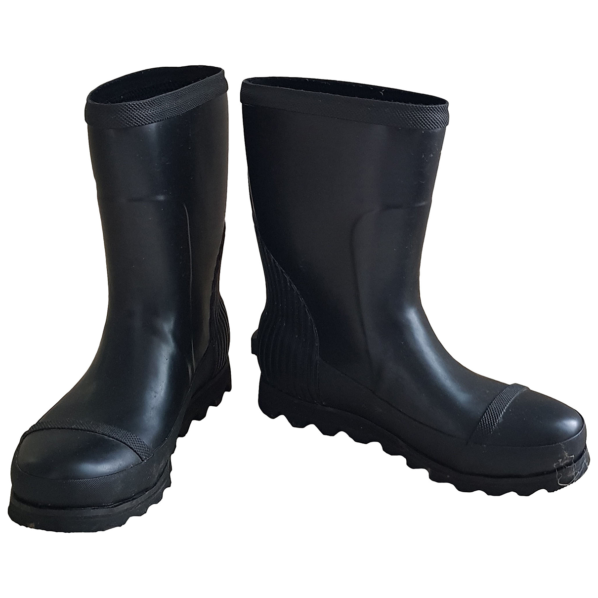 Sorel - Bottes   pour femme en caoutchouc - noir