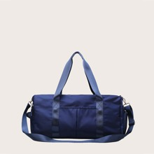 Minimalist Barrel Bag
