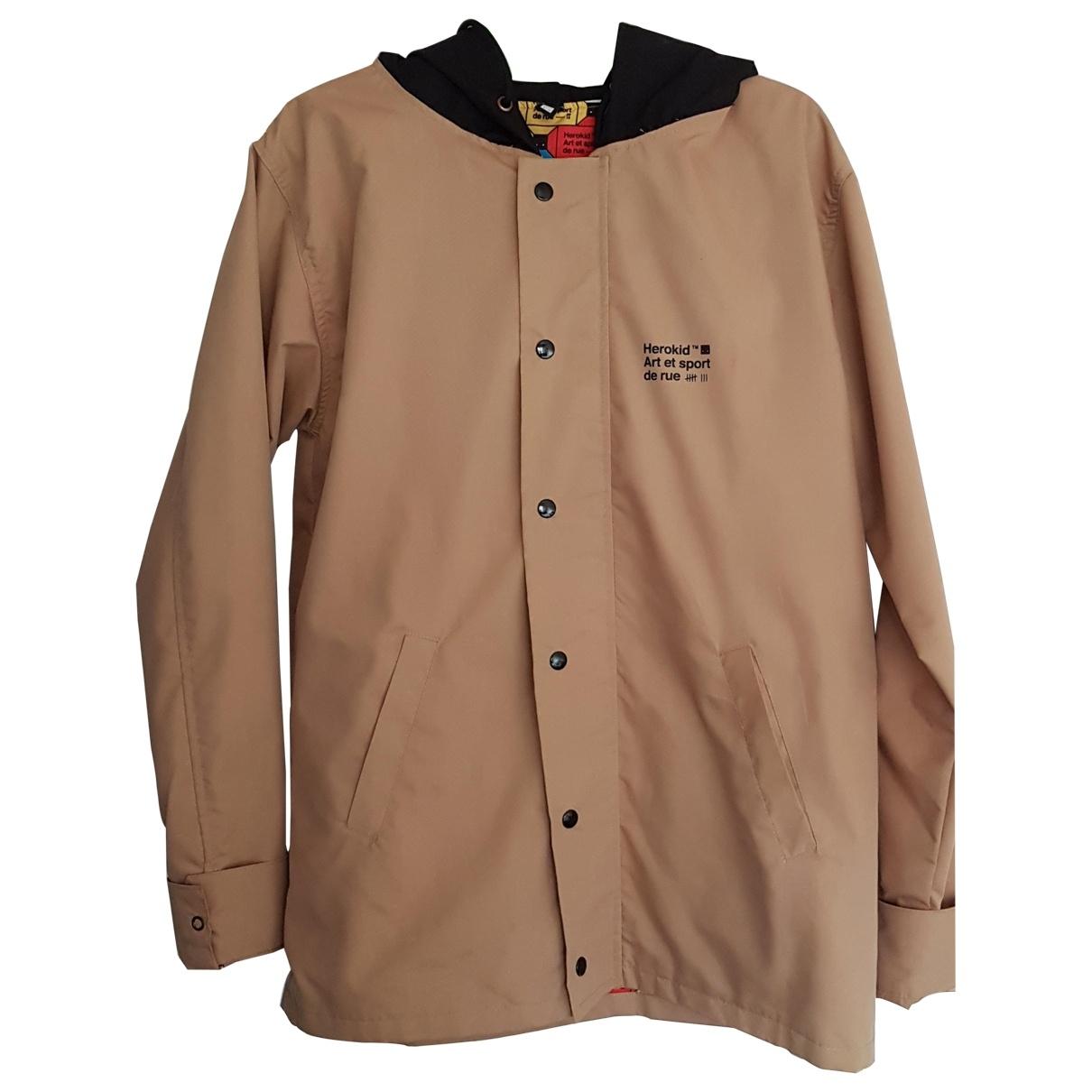 Non Signé / Unsigned \N Camel Cotton coat  for Men M International