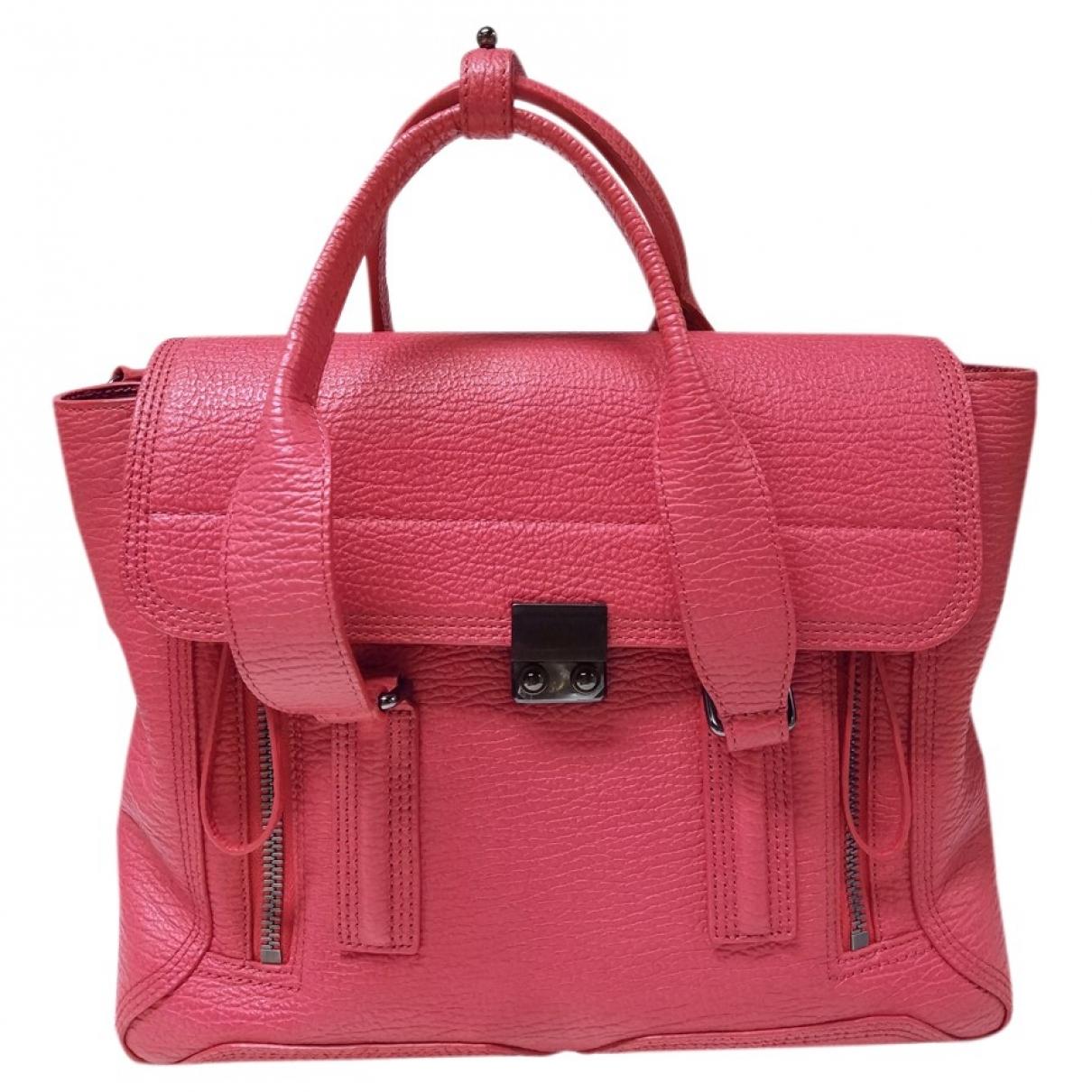 3.1 Phillip Lim Pashli Handtasche in  Rot Leder