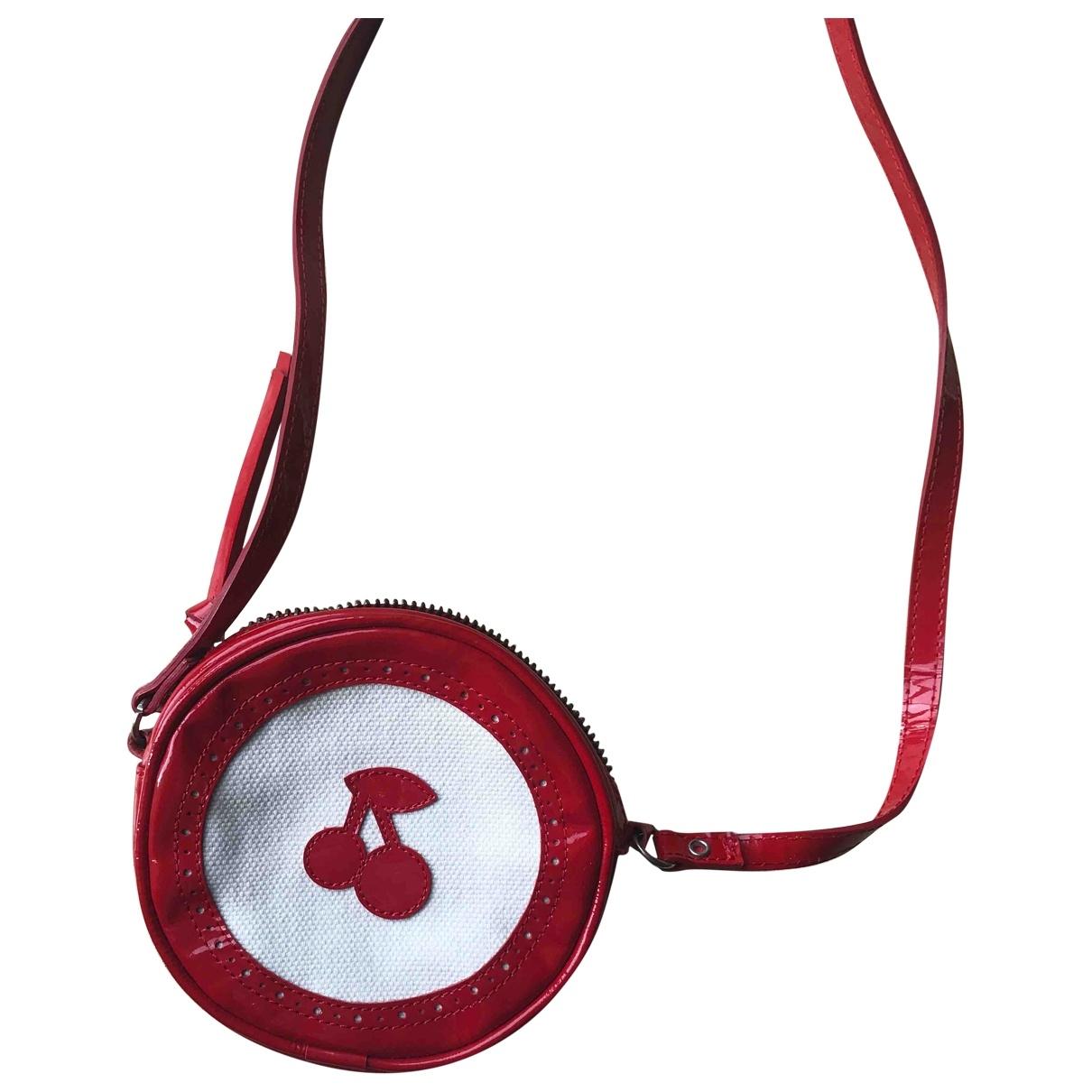Bonpoint - Sac   pour enfant en cuir - rouge