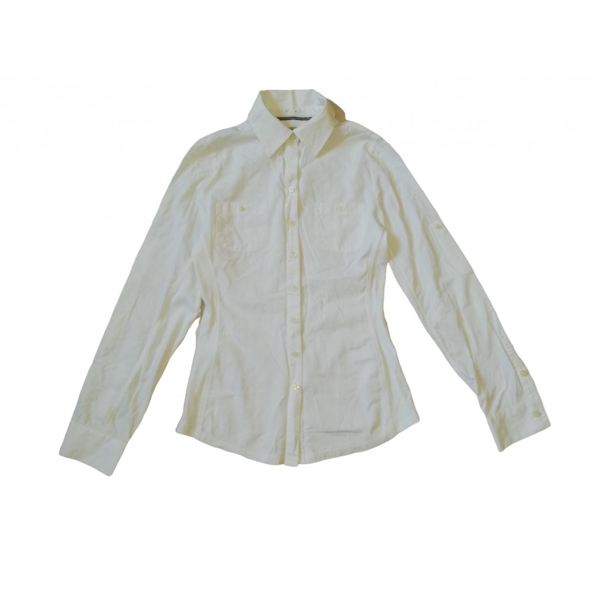 Converse - Top   pour femme en coton - blanc