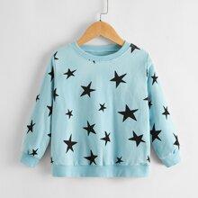 Toddler Boys Star Print Sweatshirt