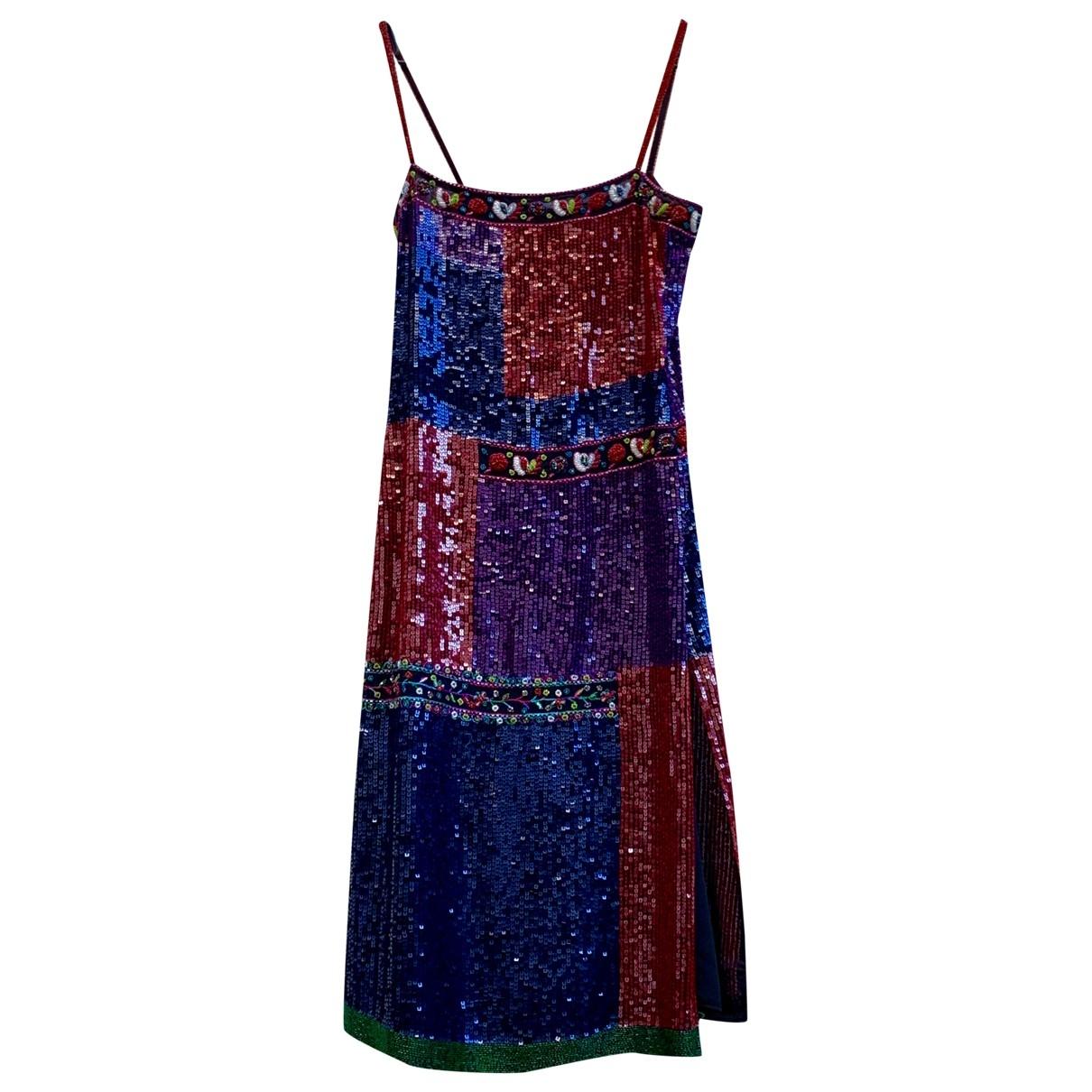 Emporio Armani \N Multicolour Glitter dress for Women 44 IT