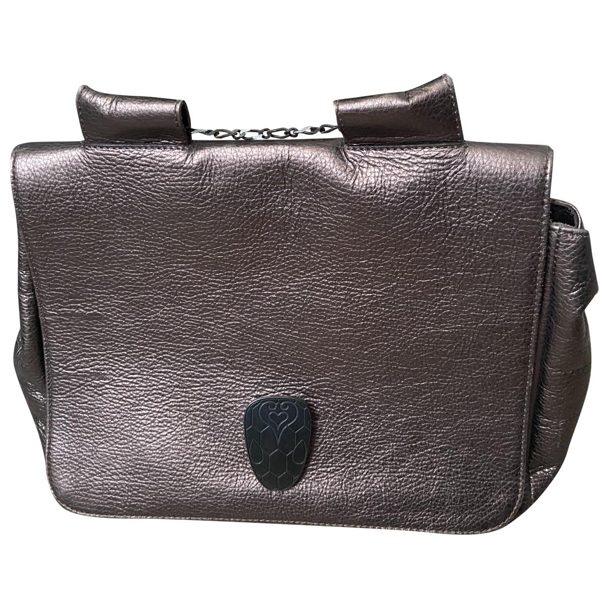 Rose & Josephine \N Purple Leather handbag for Women \N