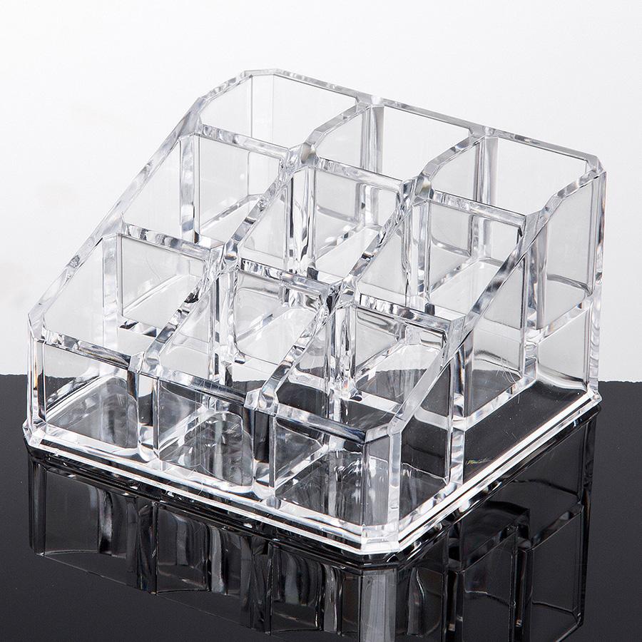 Environment Friendly Acrylic Materia 8.9*8.8*5.2cm Cosmetic Storage Box