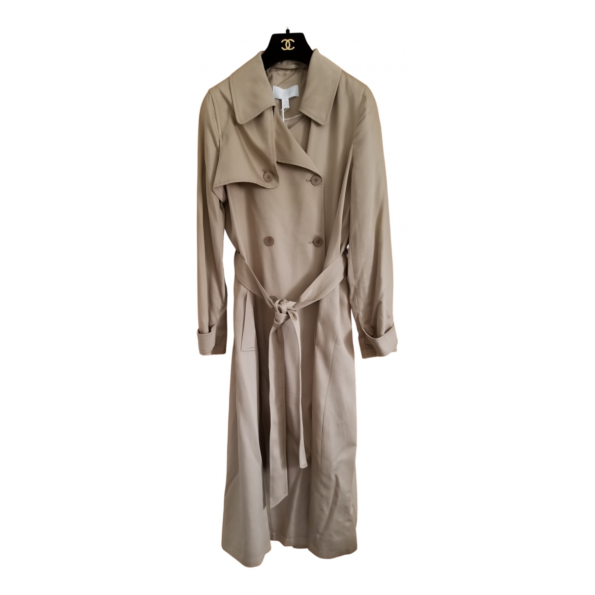 Non Signé / Unsigned \N Beige Trench coat for Women 10 UK