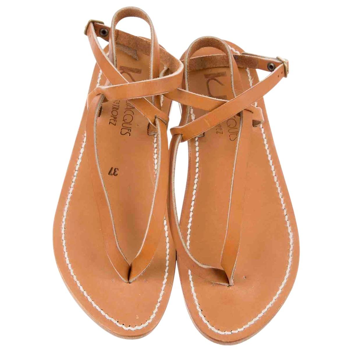 Sandalias romanas de Cuero K Jacques