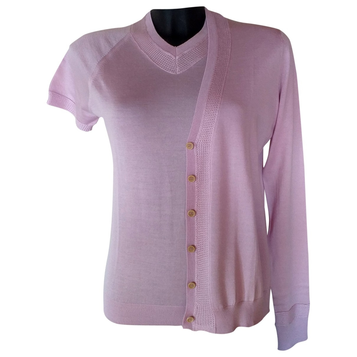 Ballantyne - Pull   pour femme en cachemire - rose