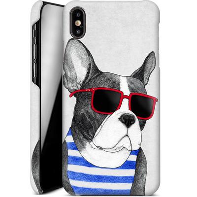 Apple iPhone XS Max Smartphone Huelle - Frenchie Summer Style von Barruf