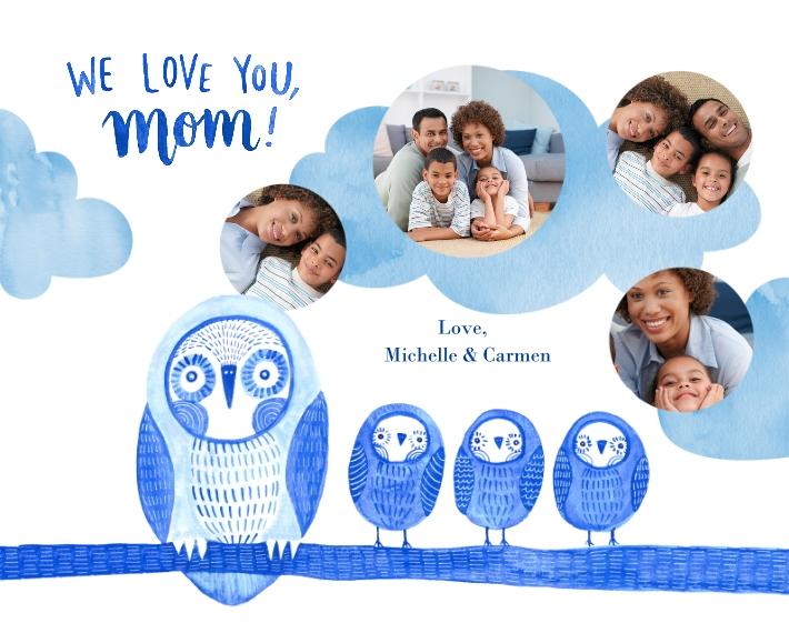 Everyday 16x20 Wood Panel, Home Décor -Owl Little Family