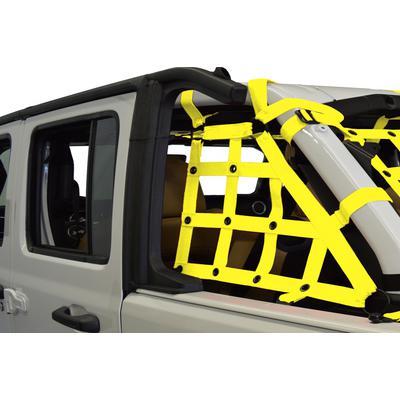 DirtyDog 4x4 Cargo Side Netting (Yellow) - JL4N18CSYL