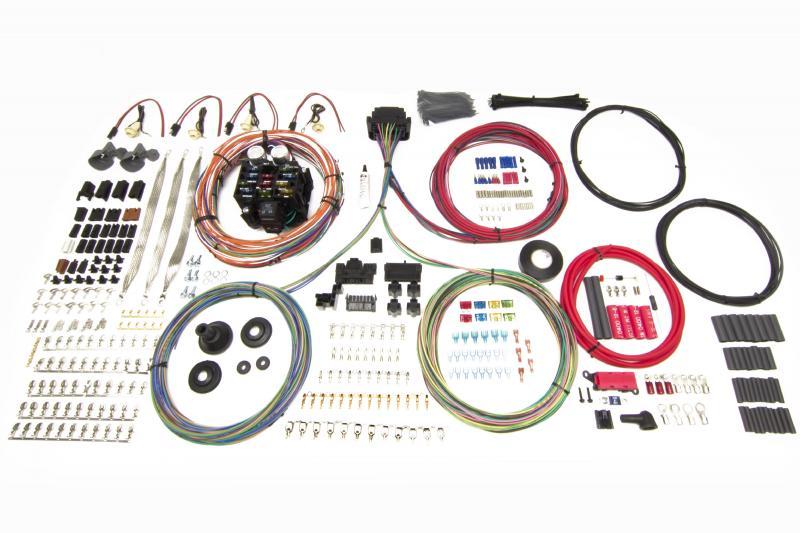 Painless Wiring 10406 23 Circuit Harness - Pro-Series - Truck - Key In Dash  - Bulkhead