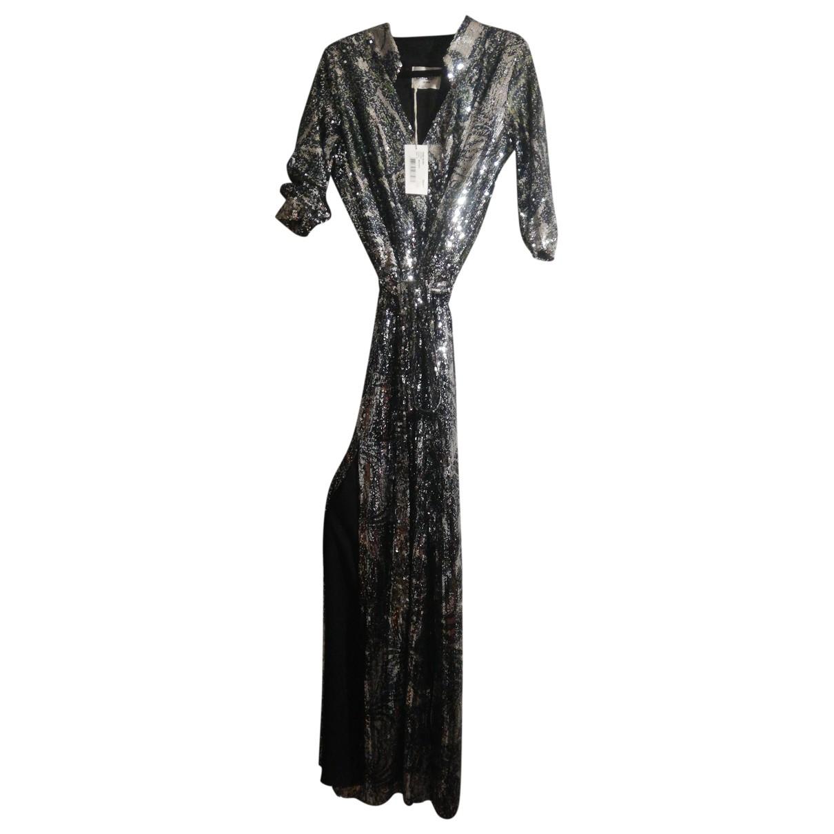 Ba&sh - Robe   pour femme en a paillettes - argente