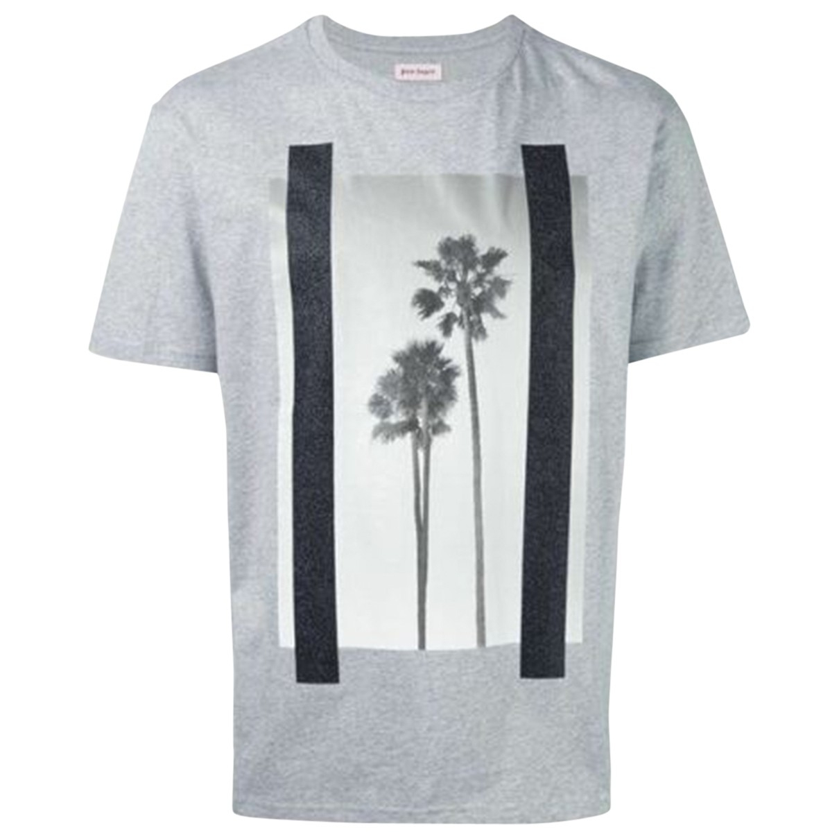 Palm Angels \N Grey Cotton  top for Women L International