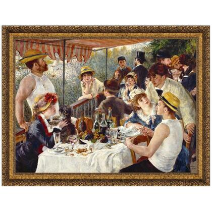 DA1396 56X43 Luncheon Of The Boating Party