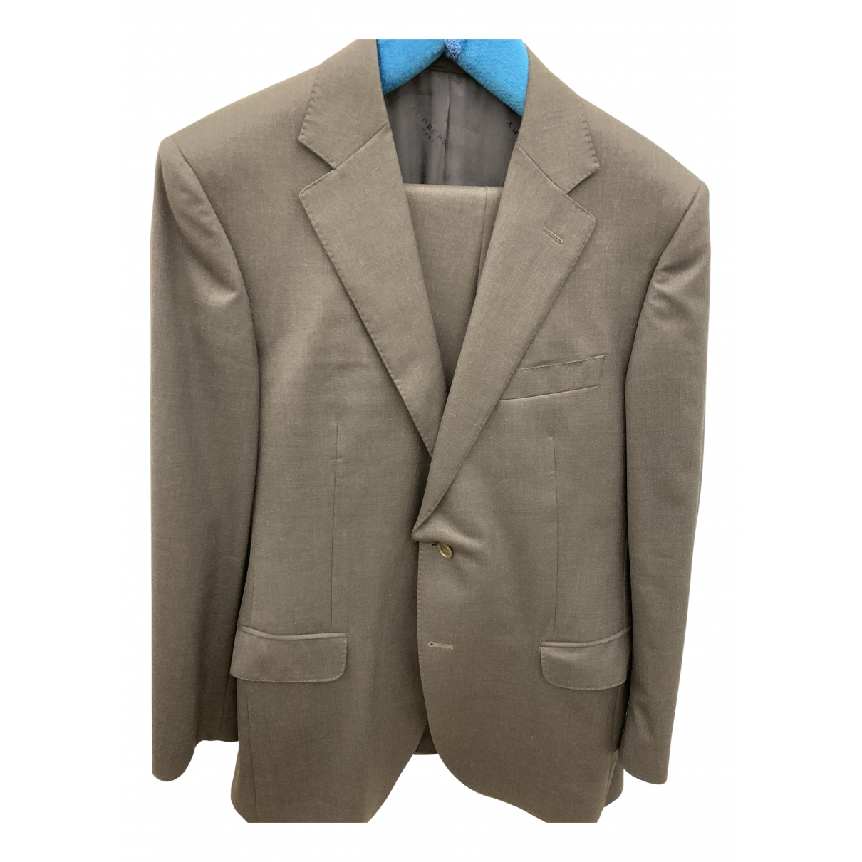 Burberry N Grey Wool Suits for Men 52 FR