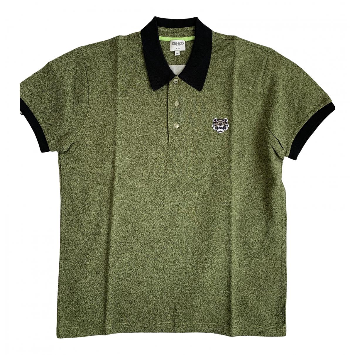 Kenzo \N Poloshirts in  Khaki Baumwolle